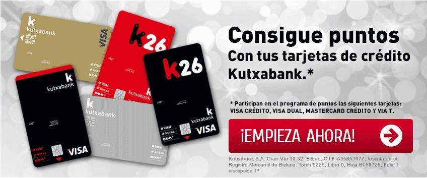 Imagen de las tarjetas de Kutxabank