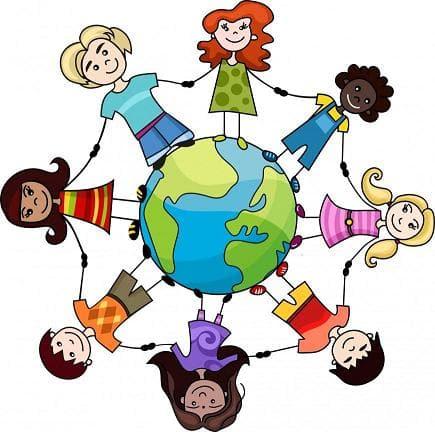 dibujo representando el concepto de solidaridad