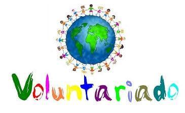 dibujo representando el concepto de voluntariado